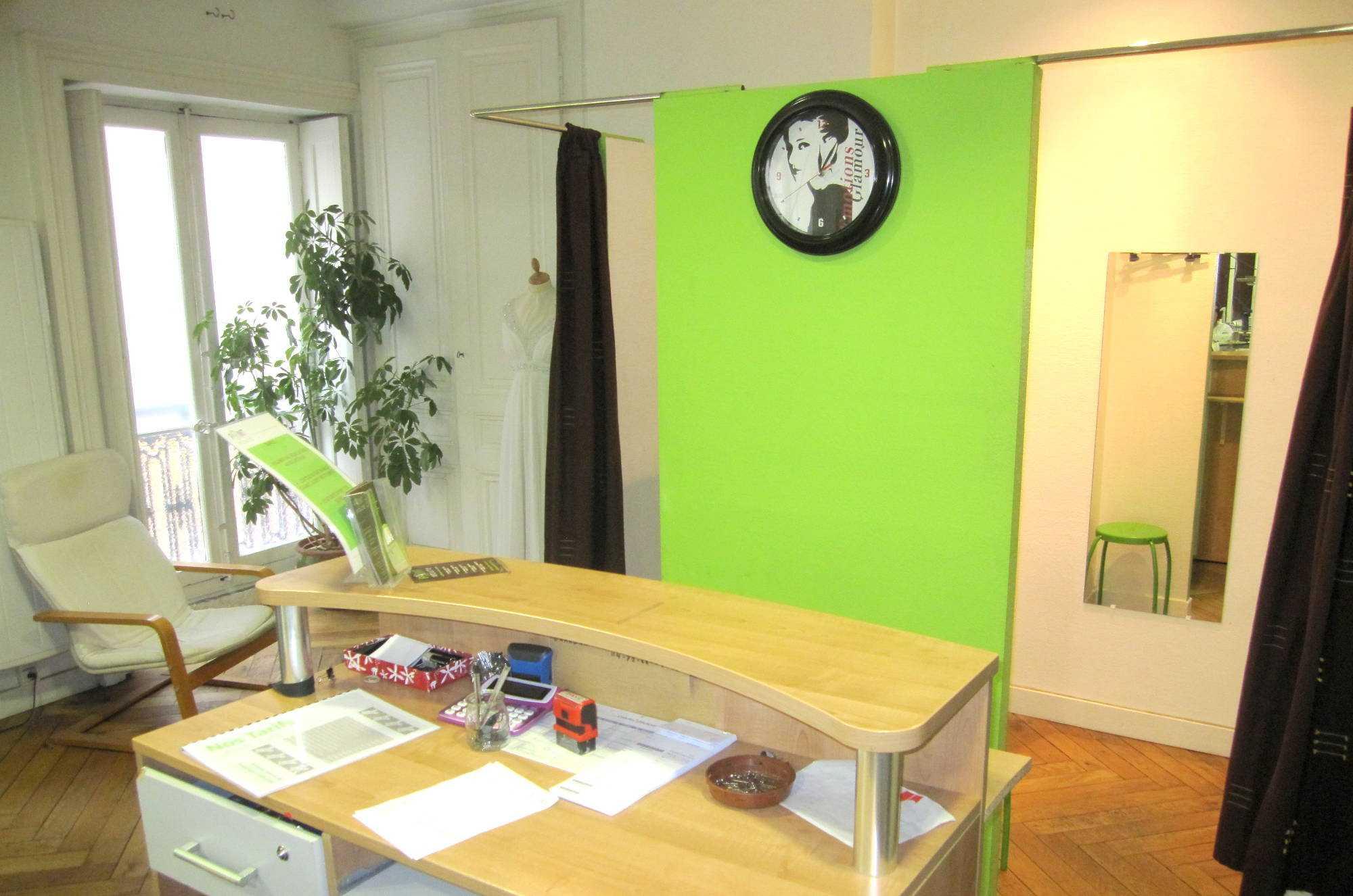 Coin Salon Cabine Essayage Lyon2 Rue De Brest Atelier