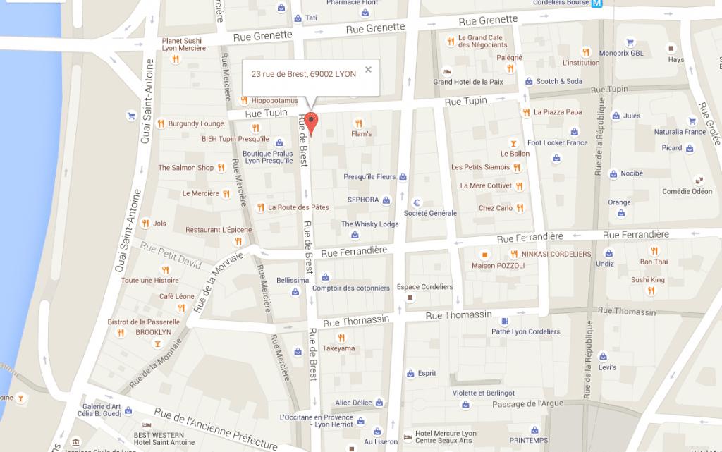plan-acces-23-rue-de-brest-69002-lyon