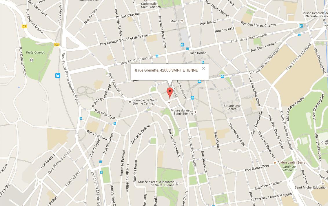 Saint etienne centre ville point retouches point retouche - Piscine saint etienne de saint geoirs ...