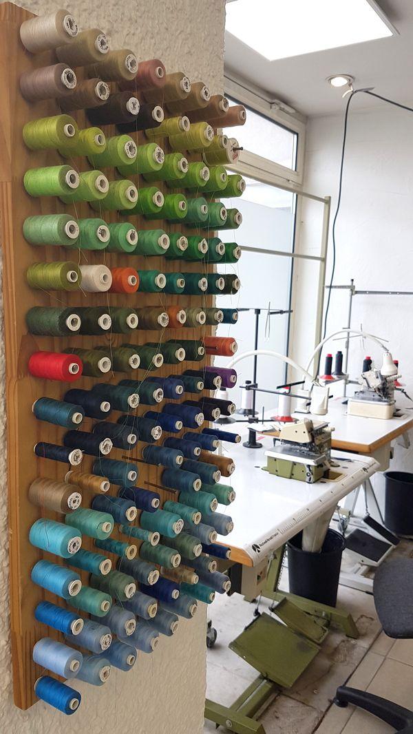 Bobines de fil de toutes les couleurs Point Retouche Grenoble