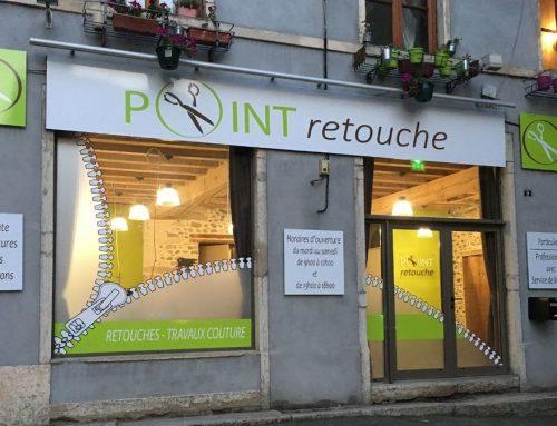 Facade Point Retouche 9 Place du Jeux de Paume 38200 Vienne