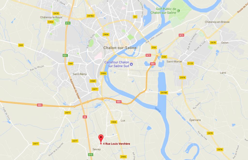 carte-chalon-sur-saone-sevrey-4-rue-louis-verchere